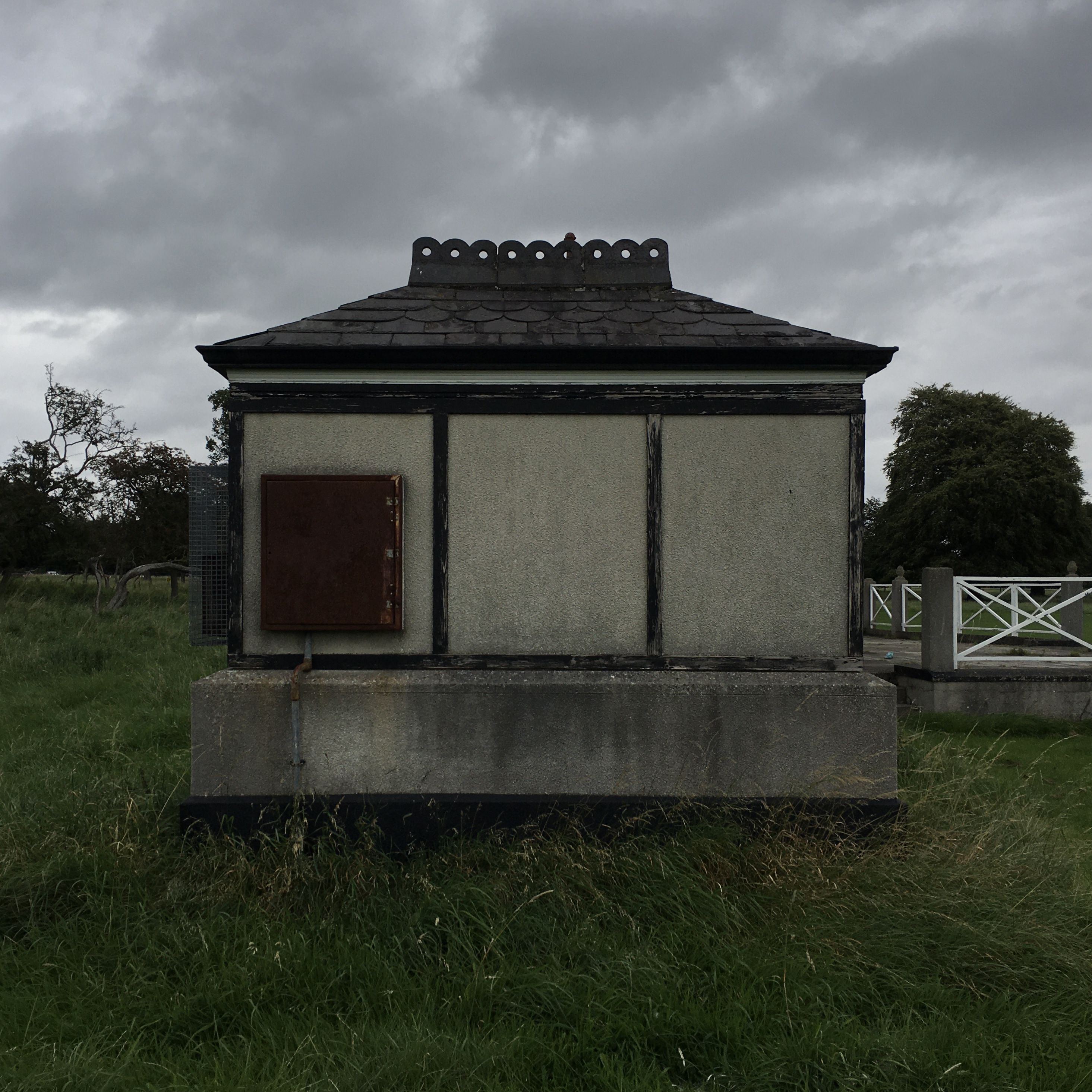 A very norse looking little building in Phoenix park